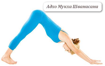 Йога для укрепления спины - Шванасана