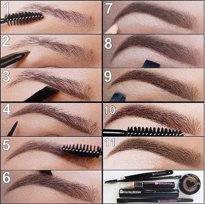 Как делать правильную коррекцию бровей