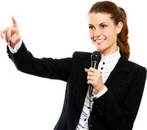 ораторские способности и жестикуляция