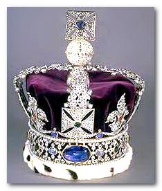 Сапфир короны великобритании