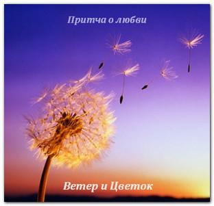 притча о любви Цветок