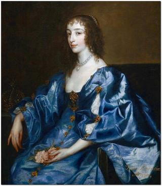Ван Дейк портрет королевы