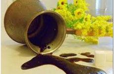 Использование кофейной гущи
