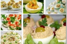 Фаршированные яйца. 25 вариантов для начинки