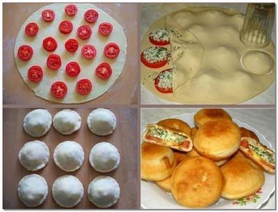 пирожки за 5 минут