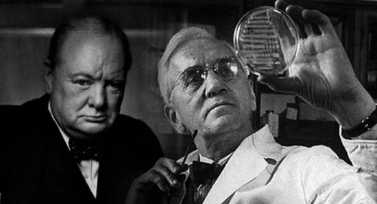 Черчиль и Флемминг