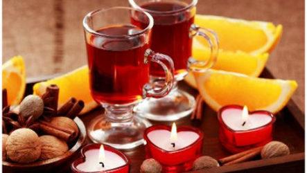 Глинтвейн с имбирем и изюмом — напиток от простуды