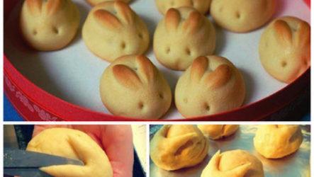 Пасхальное печенье «Зайчики»
