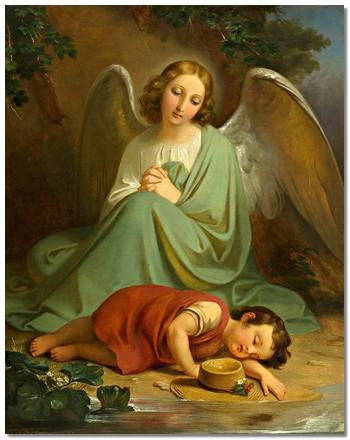 приснился ангел