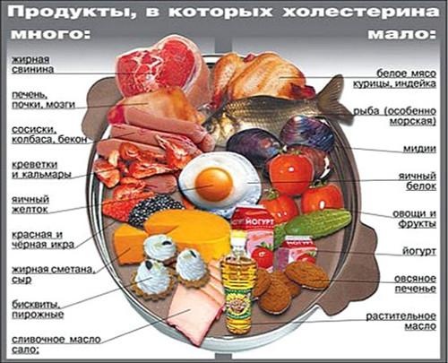 уровень холестерина в крови ниже нормы