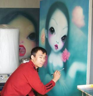 Wang Zhijie «Маленькая девочка»