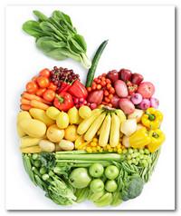 Отбеливание зубов с помощью овощей и фруктов