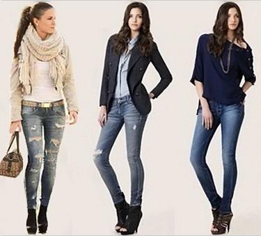 с чем носить джинсы