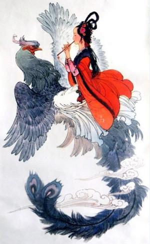 Притча о любви Женщина и птица
