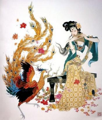 Притча Женщина и птица