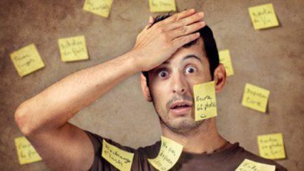 Упражнения на внимание помогут при забывчивости