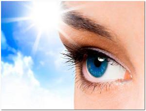 для восстановления зрения
