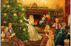 Предание о рождественской елке