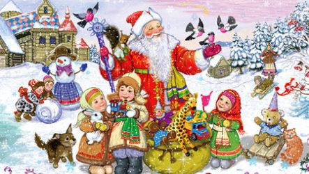 Анекдоты про детей и Новый год