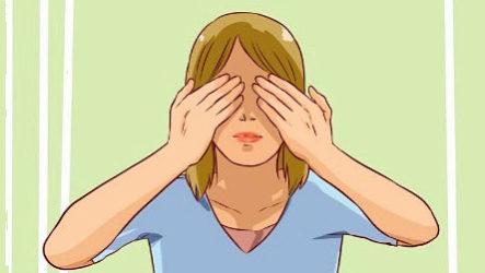 Пальминг — способ восстановления зрения