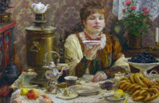 Чайные традиции на Руси