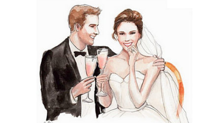 Красивый свадебный тост с цитатой