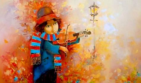 почему еврейского мальчика учат играть на скрипке