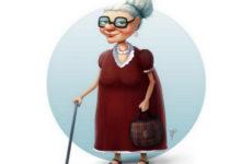 Бабуля и мошенник