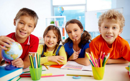 дети в школе