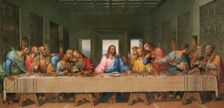 фреска Тайная вечеря